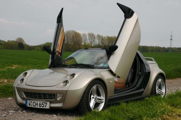 Lambodoors Scharniere smart Roadster