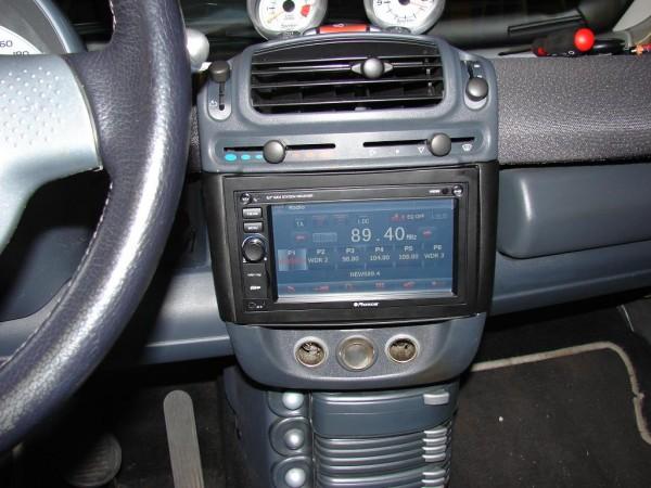 Radioblende Doppel DIN 450