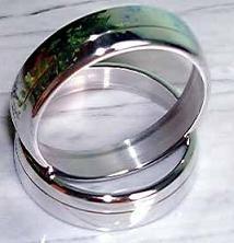 Ringe für Uhr/Drehzahlmesser Aluminium 450 MDC