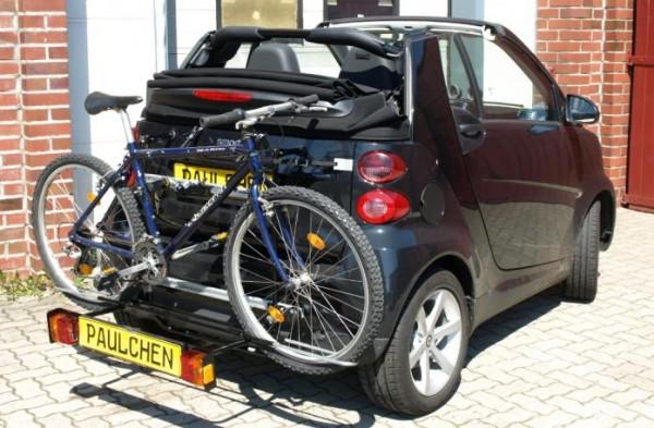Fahrradträger smart 451 fortwo Coupe + Cabrio