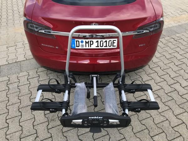 Anhängerkupplung-Fahrradträger Tesla Model S incl. Montage