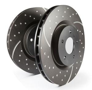 Bremsscheiben EBC Black Dash Disc