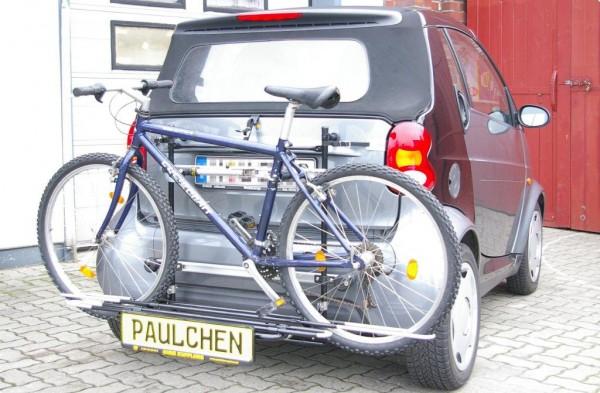 Fahrradträger smart 450 fortwo Coupe + Cabrio