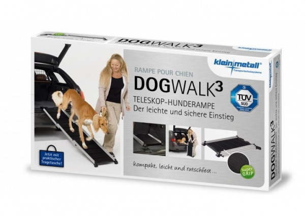 Dogwalk³- Alu-Hunderampe TÜV-geprüft