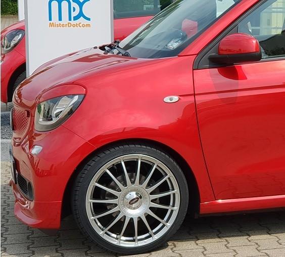 MDC Monza 18´´ Sommerkomplettradsatz smart forfour 453