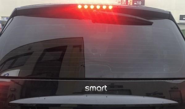 3. Bremsleuchte LED Chrom smart 451