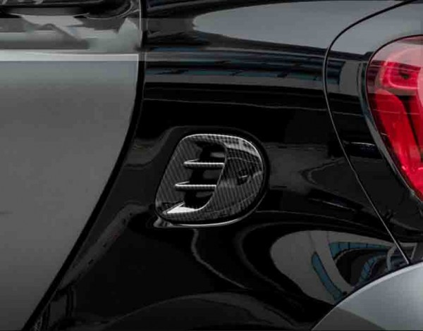 Lufteinlass-Cover smart fortwo 453