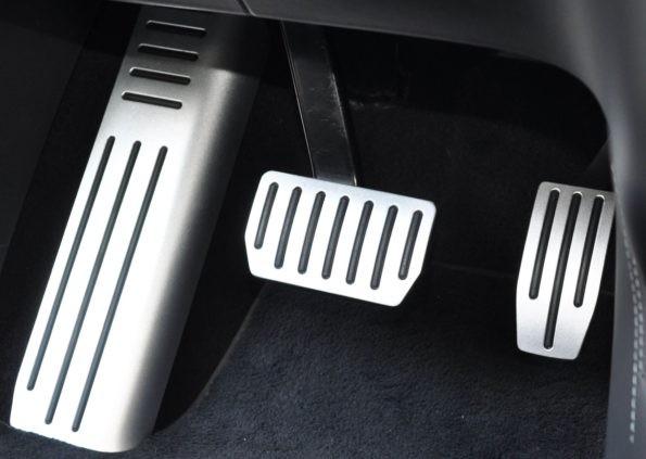 Aluminium Pedalset 3-teilig Tesla Model S