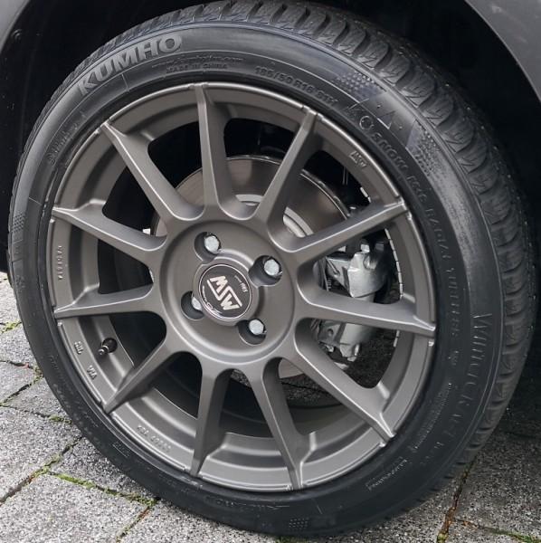 "Winterkomplettradsatz 16"" MSW 85 gunmetal"
