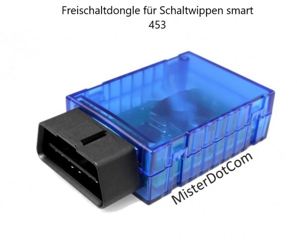 Freischaltdongle für Schaltwippen smart 453