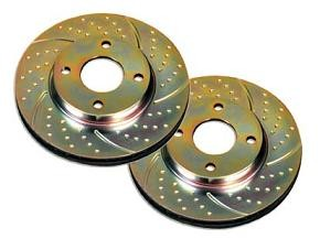 Geschlitzte & genutete Bremsscheiben Turbo Groove