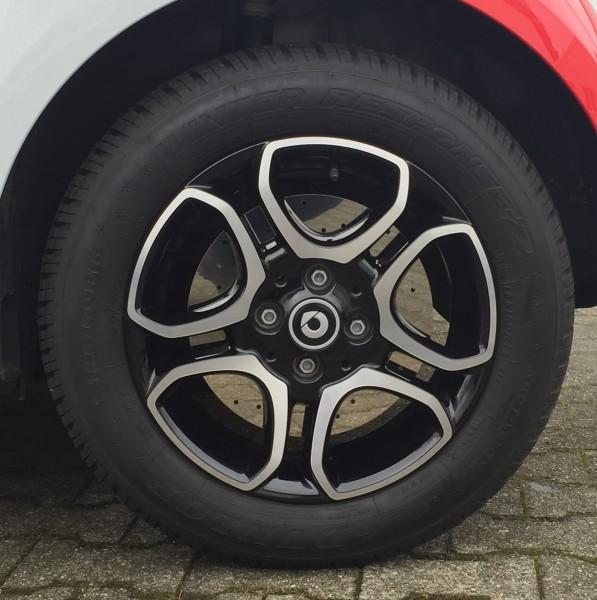 Bremsscheibenattrappen Edelstahl Renault Twingo III