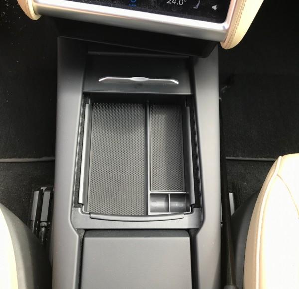 Ablageschale für Mittelfach Tesla Model S facelift