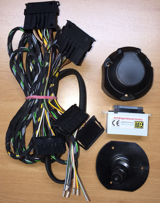 Elektrosatz Anhangerkupplung Smart Fortwo 450 451 453 Misterdotcom
