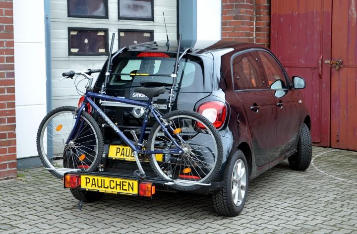 fahrradtr ger smart 453 forfour transport forfour 453. Black Bedroom Furniture Sets. Home Design Ideas